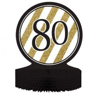 Centro de mesa nº80 Black and gold