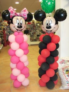 Columnas de Mickey o Minnie