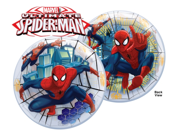 Globo bubble Spiderman