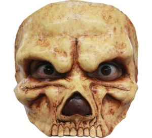 Antifaz half mask Skull
