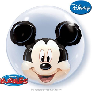 Globo bubble de Mickey