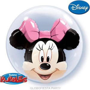 Globo bubble de Minnie